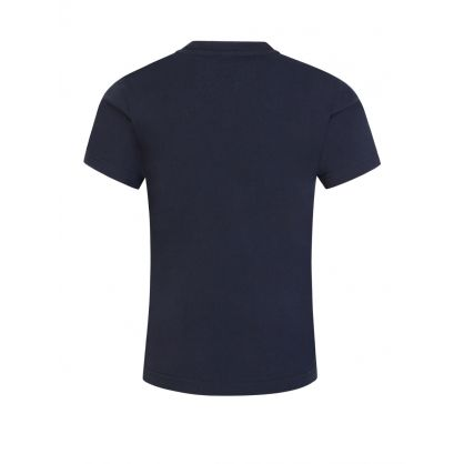 Navy Logo Patch T-Shirt