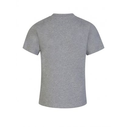 Grey Logo Patch T-Shirt