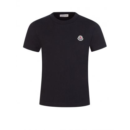 Black Logo Patch T-Shirt