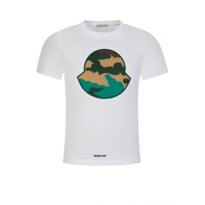 White Heritage Camo Logo T-Shirt