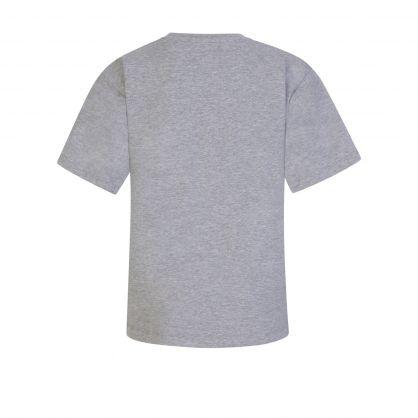 Kids Grey Toy Bear Maxi T-Shirt