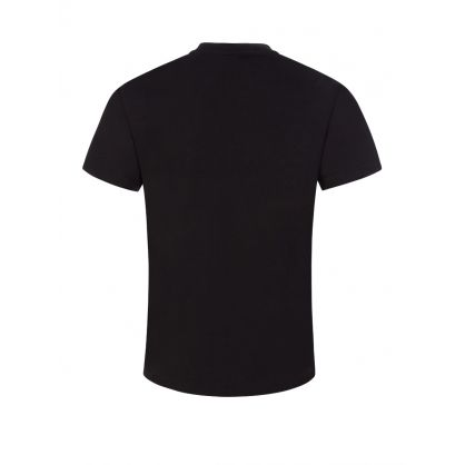 Kids Black Triple Logo T-Shirt
