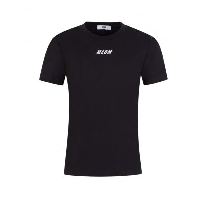 Kids Black Logo T-Shirt