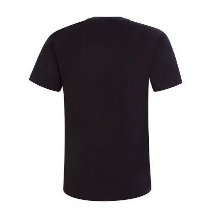 Kids Black High Shine Logo T-Shirt