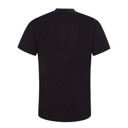 Kids Black Crystal Logo T-Shirt