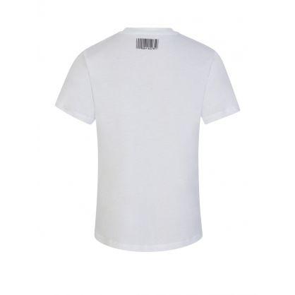 Kids White Lightning Bolt T-Shirt