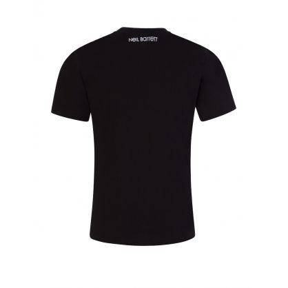 Kids Black Multi Thunderbolts T-Shirt