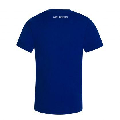 Kids Blue Thunderbolt T-Shirt