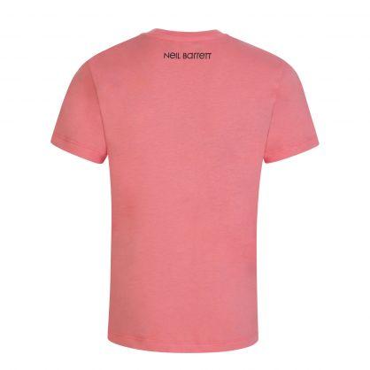 Kids Pink Thunderbolt T-Shirt