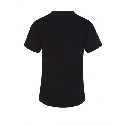 Kids Black Polo Sport T-Shirt