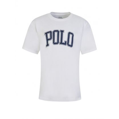 Kids White Jersey T-Shirt