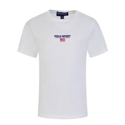 White Small Logo T-Shirt