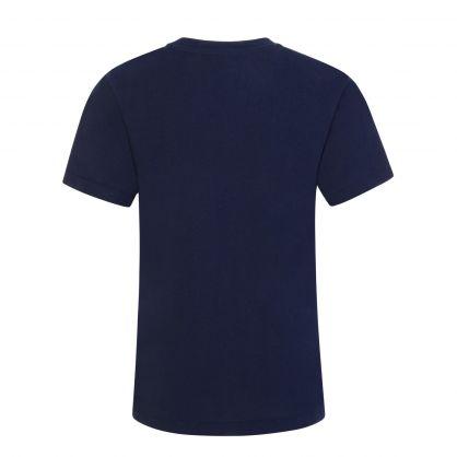 Navy Small Logo T-Shirt