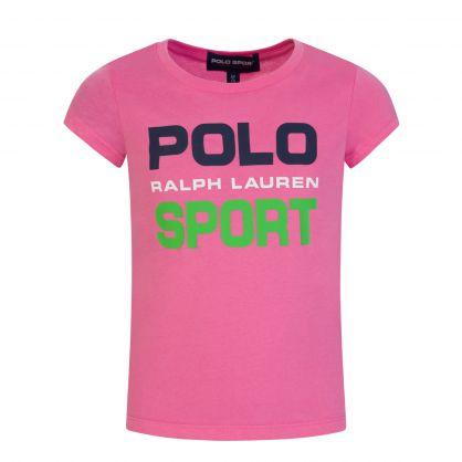 Pink Graphic Logo T-Shirt