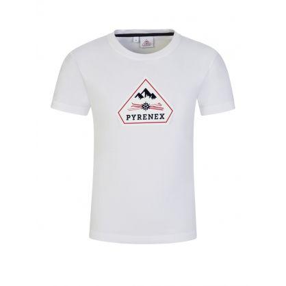 Kids White Karel T-Shirt