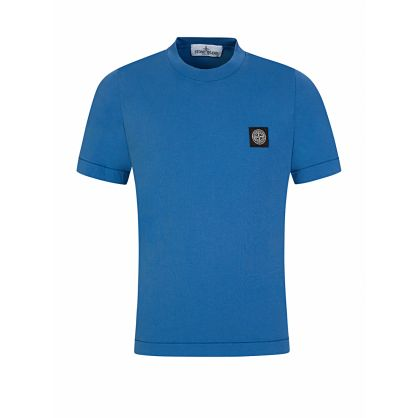 Junior Blue Compass Patch T-Shirt