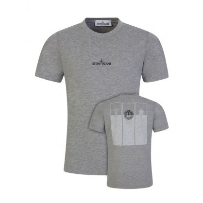 Junior Grey Chest Logo T-Shirt