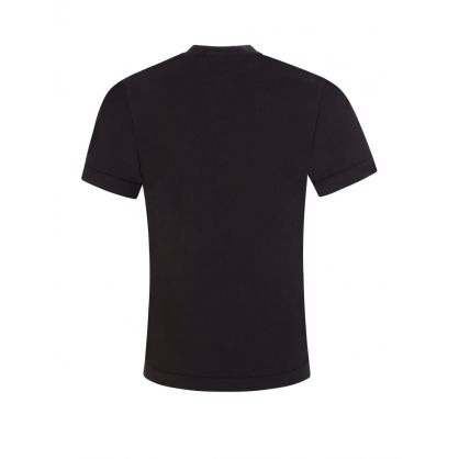 Junior Black Cotton T-Shirt