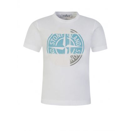 Junior White Compass Logo T-Shirt