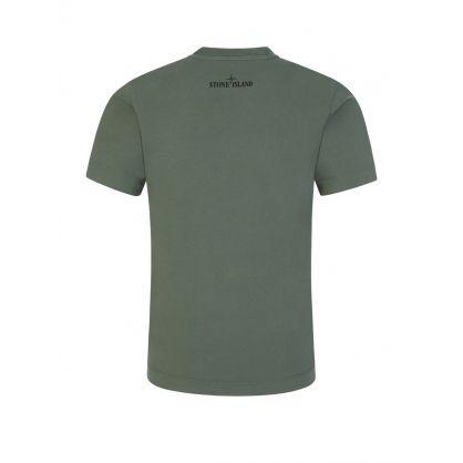 Junior Green Compass Print T-Shirt