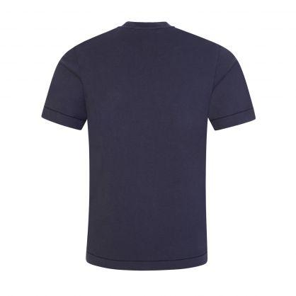 Junior Navy Compass Patch T-Shirt