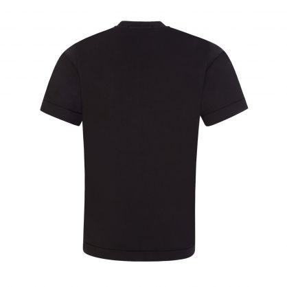 Junior Black Compass Patch T-Shirt