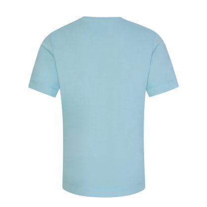 Junior Aqua Logo Badge T-Shirt