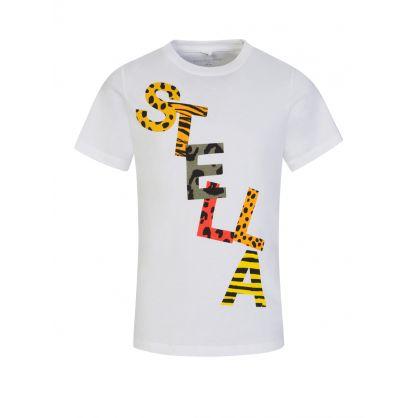 White Animal Print T-Shirt