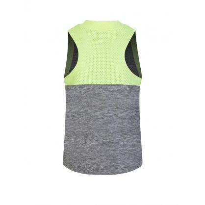Stella McCartney Grey Space Dye Vest