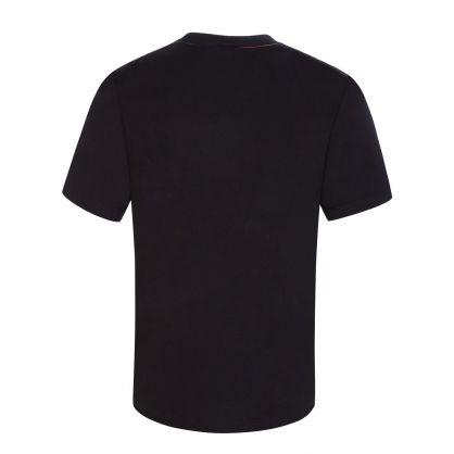Black Stella Print T-Shirt