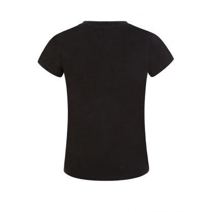 Kids Black Essential Logo T-Shirt