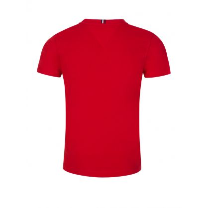 Kids Red Essential Logo T-Shirt