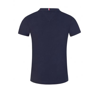 Kids Navy Essential Chest Logo T-Shirt