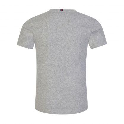 Kids Grey Essential Logo-Print T-Shirt