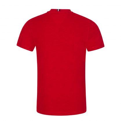 Kids Red Classic Logo T-Shirt