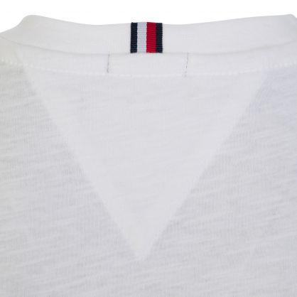 Kids White Classic Logo T-Shirt