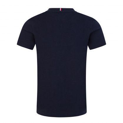 Kids Navy Classic Logo T-Shirt