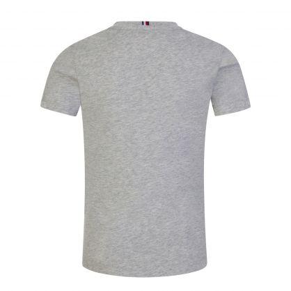 Kids Grey Organic Cotton Essential Logo T-Shirt