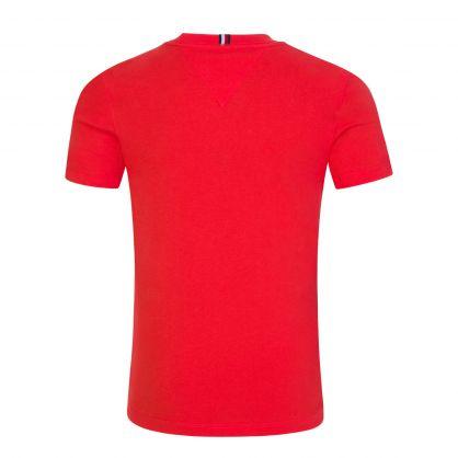Kids Scarlet Red Logo T-Shirt