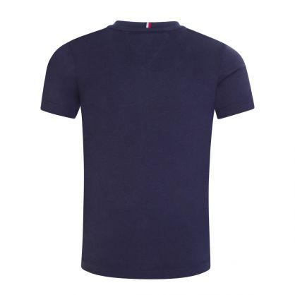 Kids Navy Essential Blocking T-Shirt