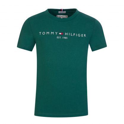 Kids Green Essential T-Shirt