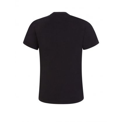 Black Junior Chest Logo T-Shirt