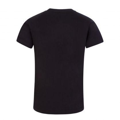 Black Junior Medusa Crystal T-Shirt