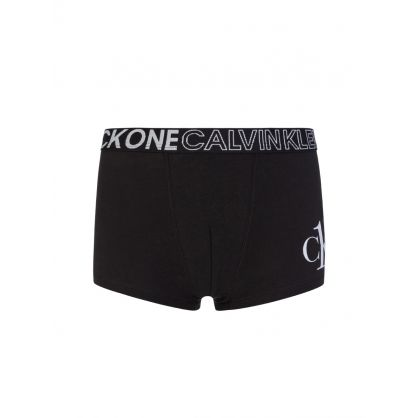 Kids CK One Black 2-Pack Trunks
