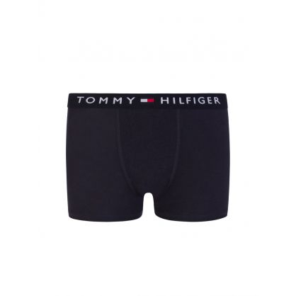Kids Navy Trunks 2-Pack