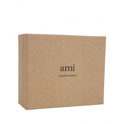 AMI Silver Ami De Coeur Keyring
