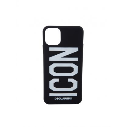 Black iPhone 11 Pro Max ICON Phone Case