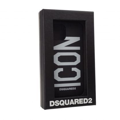 Black ICON iPhone 12 Pro Phone Case
