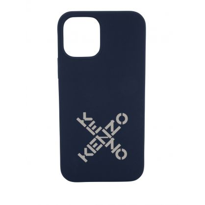 Navy iPhone 12 Pro Phone Case