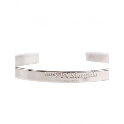 Silver Cuff Band Bracelet